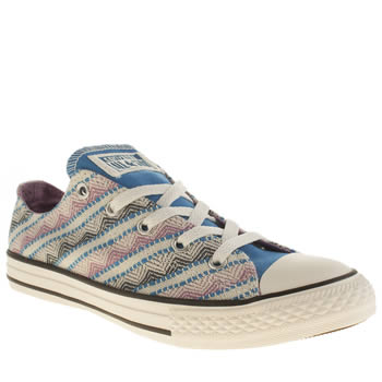 Girls Converse Multi All Star Camp Craft Ox Girls Youth