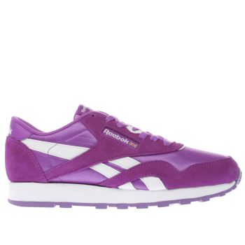 Reebok Purple Classic Nylon Girls Youth