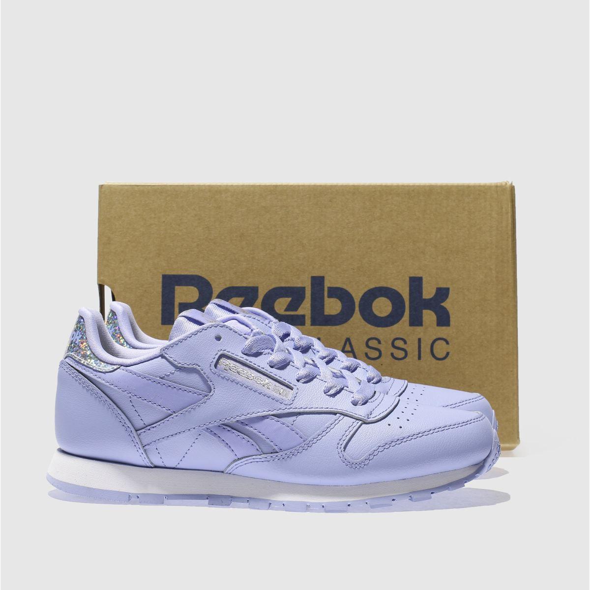 lilac reebok classics