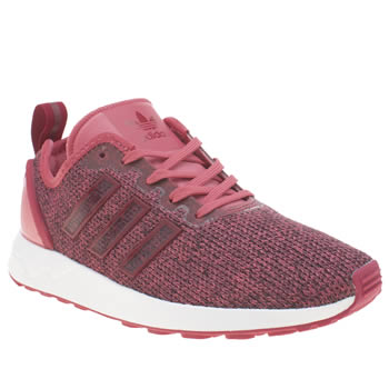 Adidas Pink Zx Flux Adv Girls Youth