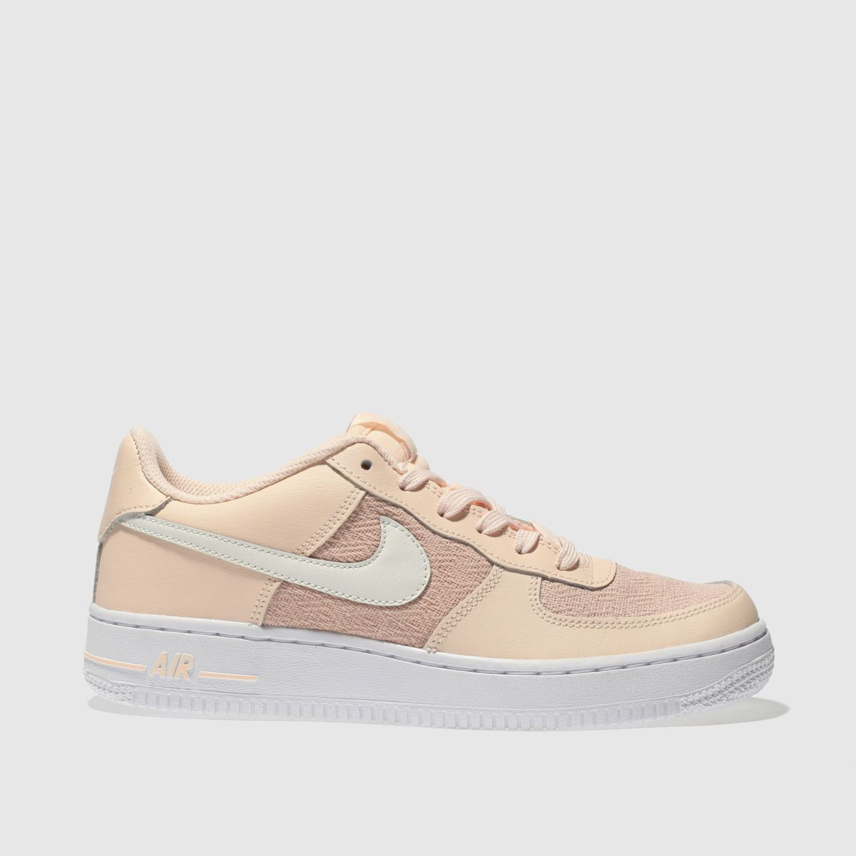 Nike Peach Air Force 1 Girls Youth Youth