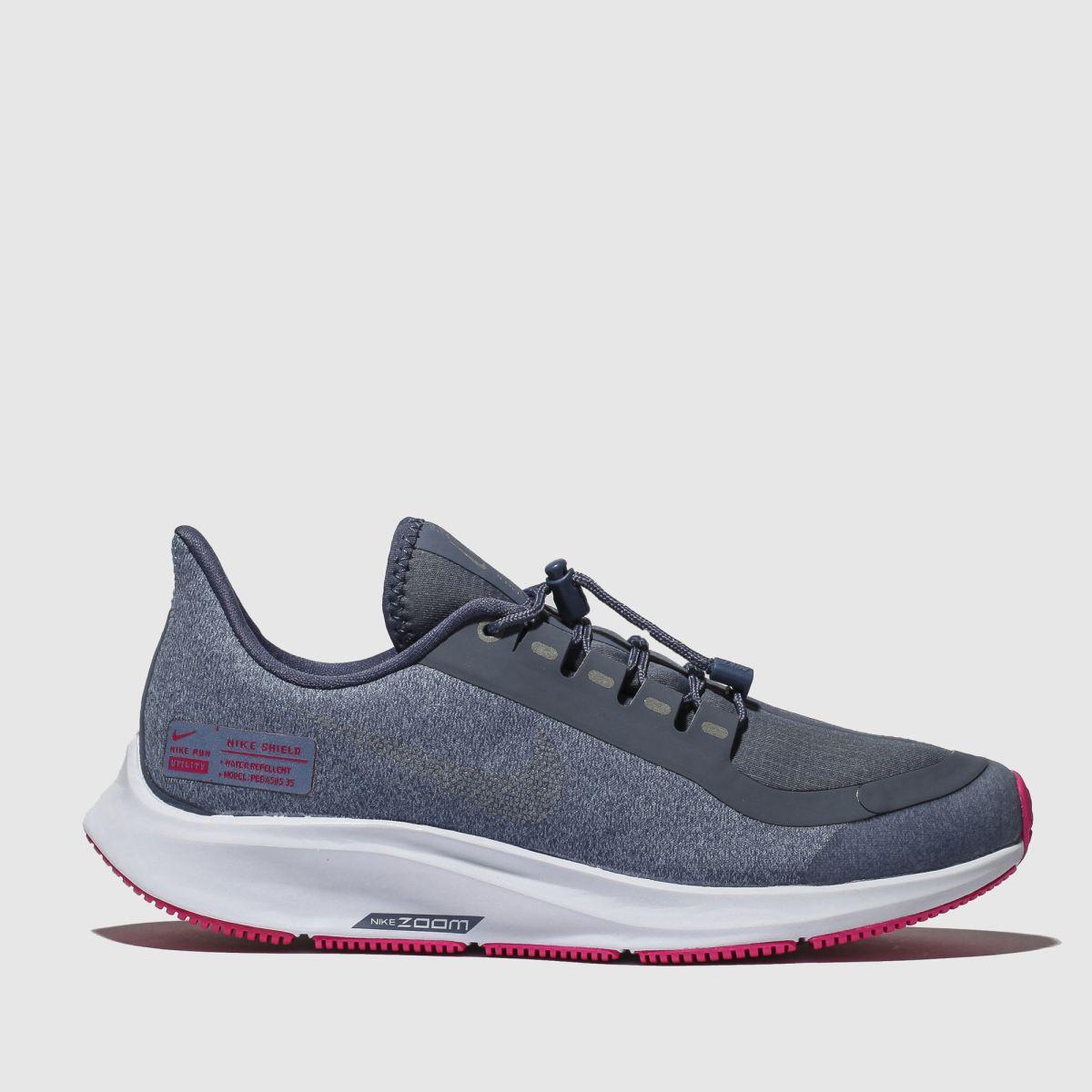 Nike Blue Air Zoom Pegasus5 Trainers Youth