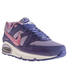 Youth Purple Nike Air Max Command