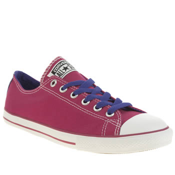 Girls Converse Pink All Star East Coaster Girls Youth