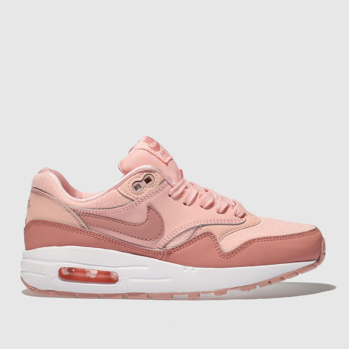 Nike Pink Air Max 1 Se Girls Youth Youth