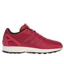 Adidas Pink Zx Flux Girls Youth