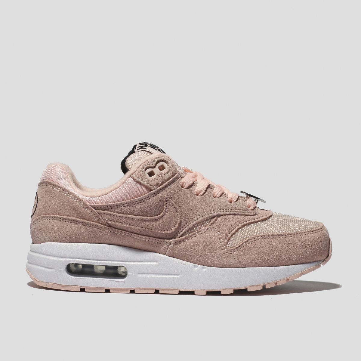 Nike Pink Air Max 1 Trainers Youth