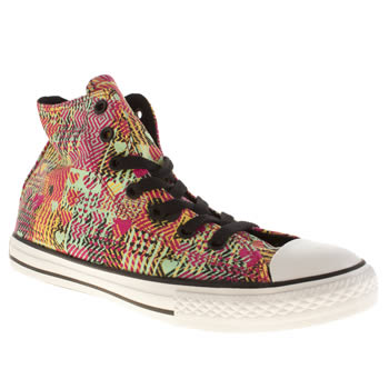 Converse Multi Chuck Taylor All Star Leopard Girls Youth