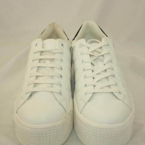 womens white schuh jazzy trainers   schuh