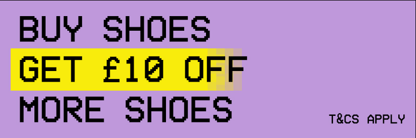 Buy shoes, get £10 off more shoes