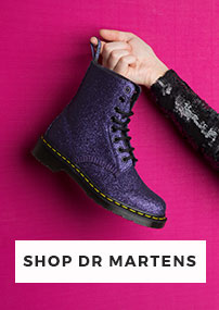 shop our full range of dr martens for men, women and kids including the pascal 8-eye boot glitter at schuh