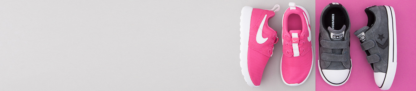 shop the range of toddler shoes with brands including nike & converse