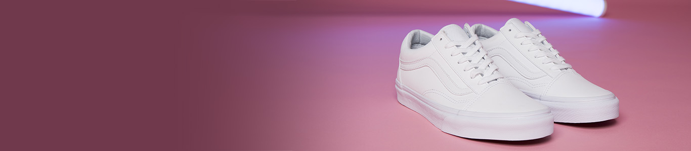 shop mens and womens all white trainers from vans and more at schuh
