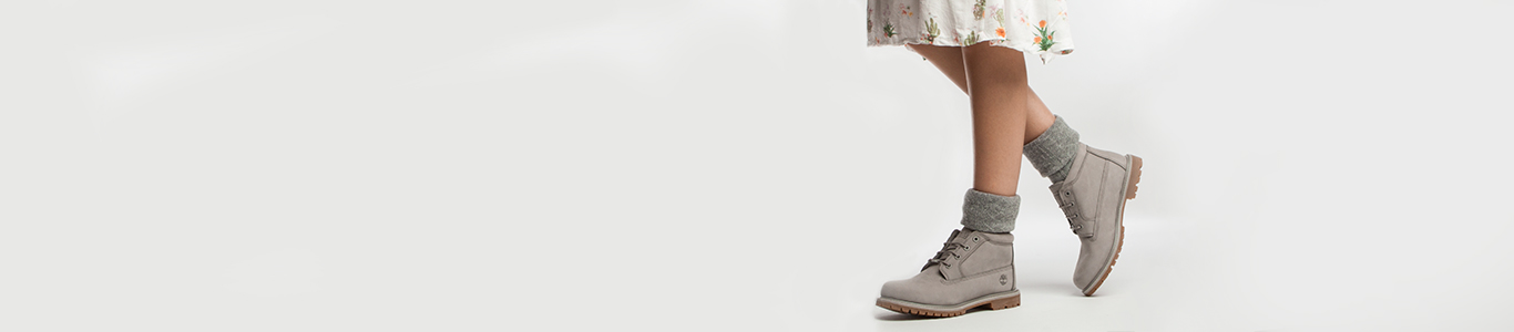 Women's grey Timberland ankle boots available at schuh
