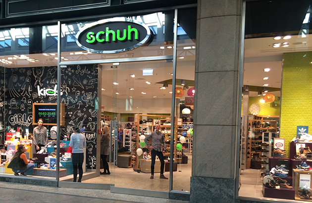 2c2f04d3801b schuh Oberhausen   One of our Many Shoe Shops