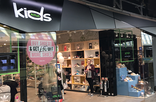 Sheffield/Sheffield Meadowhall Kids schuh store
