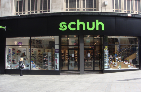 Liverpool/Liverpool Church Street schuh store