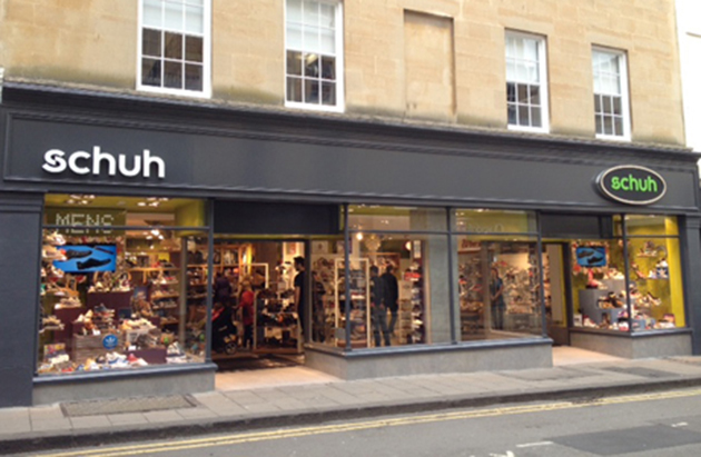 schuh Bath, Stall Street | One of our many Shoe Shops
