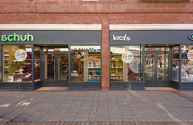 Colchester/Colchester schuh store