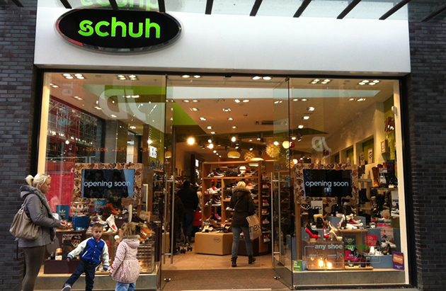 Liverpool/Liverpool One schuh store