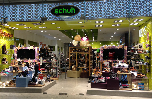 London/London Canary Wharf schuh store