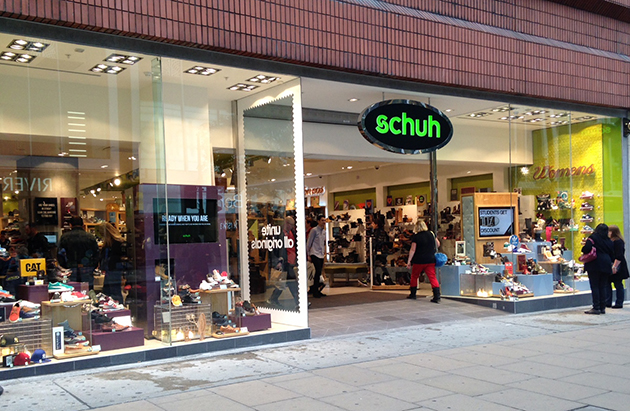 London/London Marble Arch schuh store