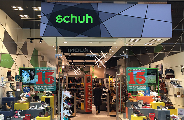 Cambridge/Cambridge Grand Arcade schuh store