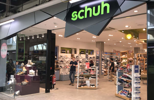 Sheffield/Sheffield Meadowhall schuh store