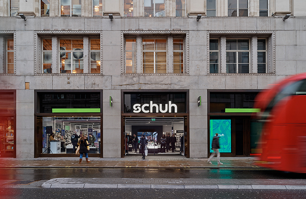 London/London Oxford Circus schuh store