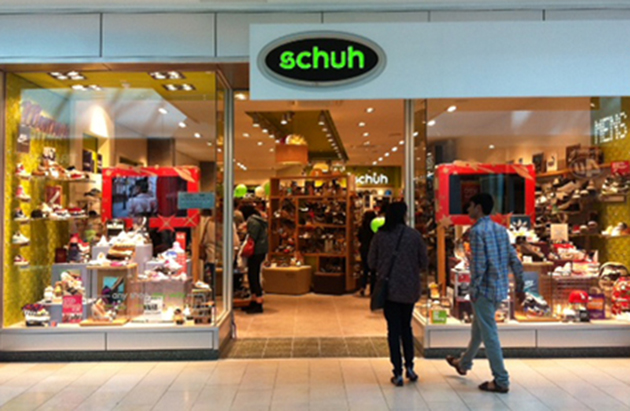 Leicester/Leicester schuh store