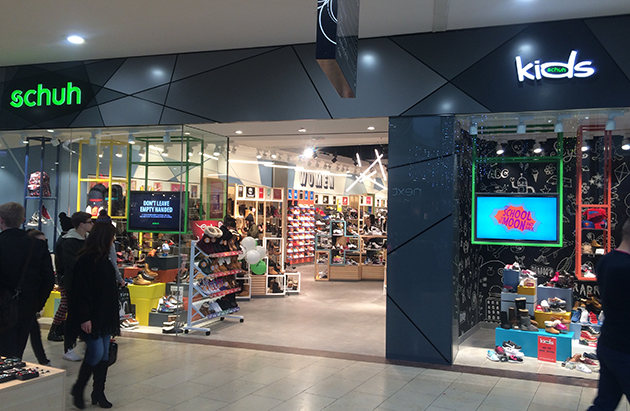 Dundee/Dundee Overgate Centre schuh store