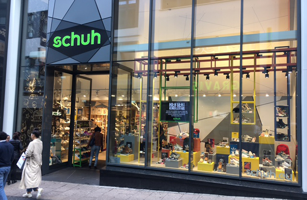 9e992b4ad185 schuh essen   One of our Many Shoe Shops