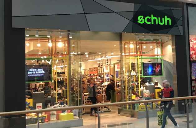 Plymouth/Plymouth schuh store
