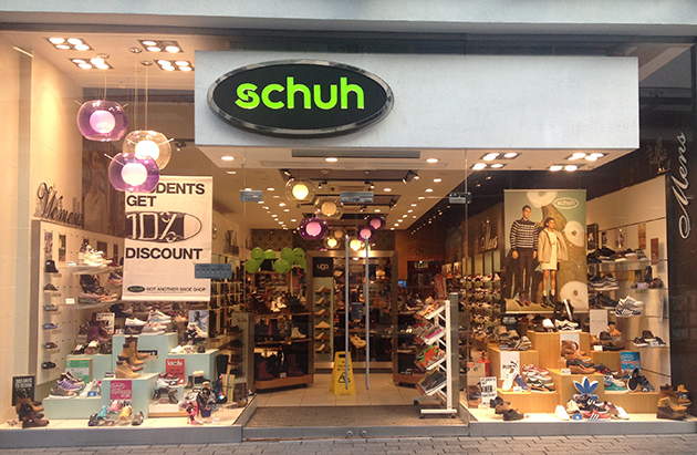 Exeter/Exeter schuh store