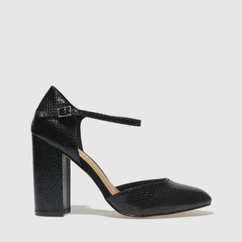 Schuh Black Darla Womens High Heels