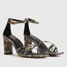 schuh Samara Strippy Block Heel 1