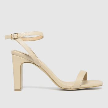 schuh Natural Suzie Two Part Sandal Womens High Heels
