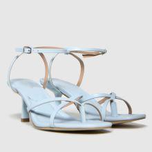 schuh Sapphire Croc Strappy Sandal,2 of 4