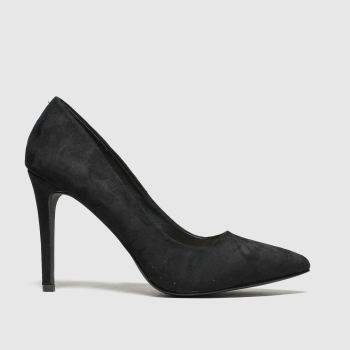 Schuh Black Tease Womens High Heels
