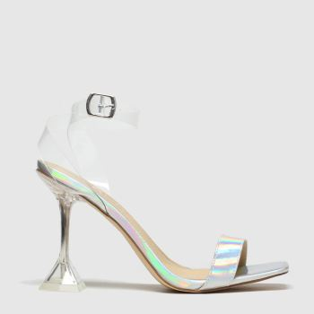 Schuh Silver Lucky c2namevalue::Womens High Heels