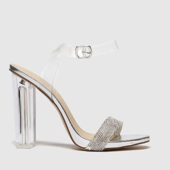 Schuh Silver Idol Womens High Heels