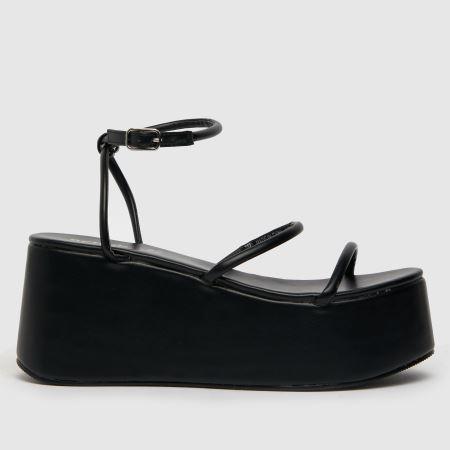 schuh Scarlet Flatform Strapy Sandaltitle=