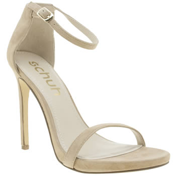 Schuh Beige All Eyes On You Womens High Heels