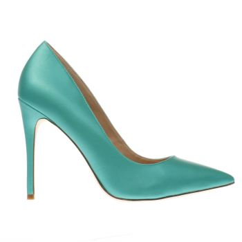 Schuh Green Flirty Womens High Heels