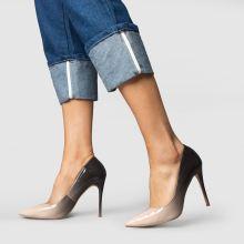 369b5aee3 womens stone & black schuh flirty high heels   schuh