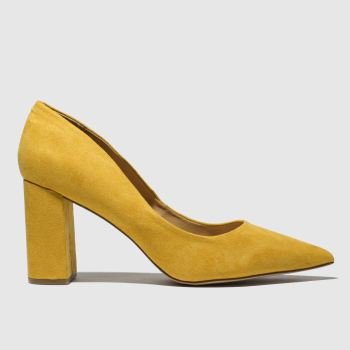 Schuh Yellow Amour Womens High Heels