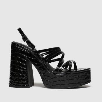 schuh black blase high heels