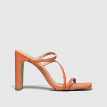Schuh Orange Newsflash Womens High Heels