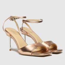 schuh Sophia Metal Heel Sandal 1