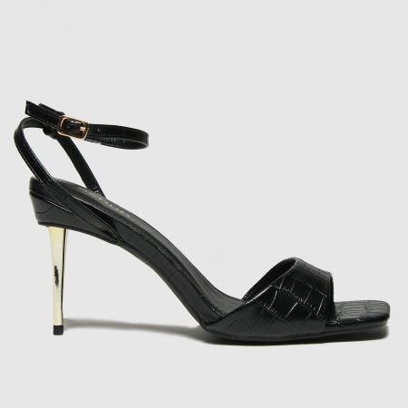 schuh Sophia Metal Heel Sandaltitle=